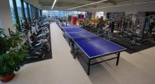 prodejna LIBEREC - část úseku stolního tenisu a eliptických trenažérů