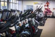 prodejna PRAHA - část úseku cyklotrenažérů