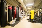 prodejna PRAHA - část úseku bojových sportů