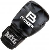 Boxerské rukavice 14 oz kůže Leopard BAIL Black image