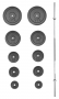 Nakládací činka PREMIUM kovová 75 kg
