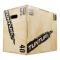 Plyometrická bedna dřevěná TUNTURI Plyo Box